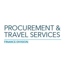 Large brand image for Procurement & Travel Services